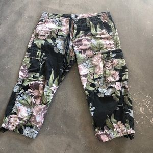 Lucky Brand floral knickers size 29/8